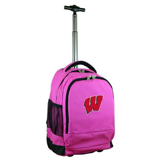 CLWIL780-PK: NCAA Wisconsin Badgers Wheeled Premium Backpack